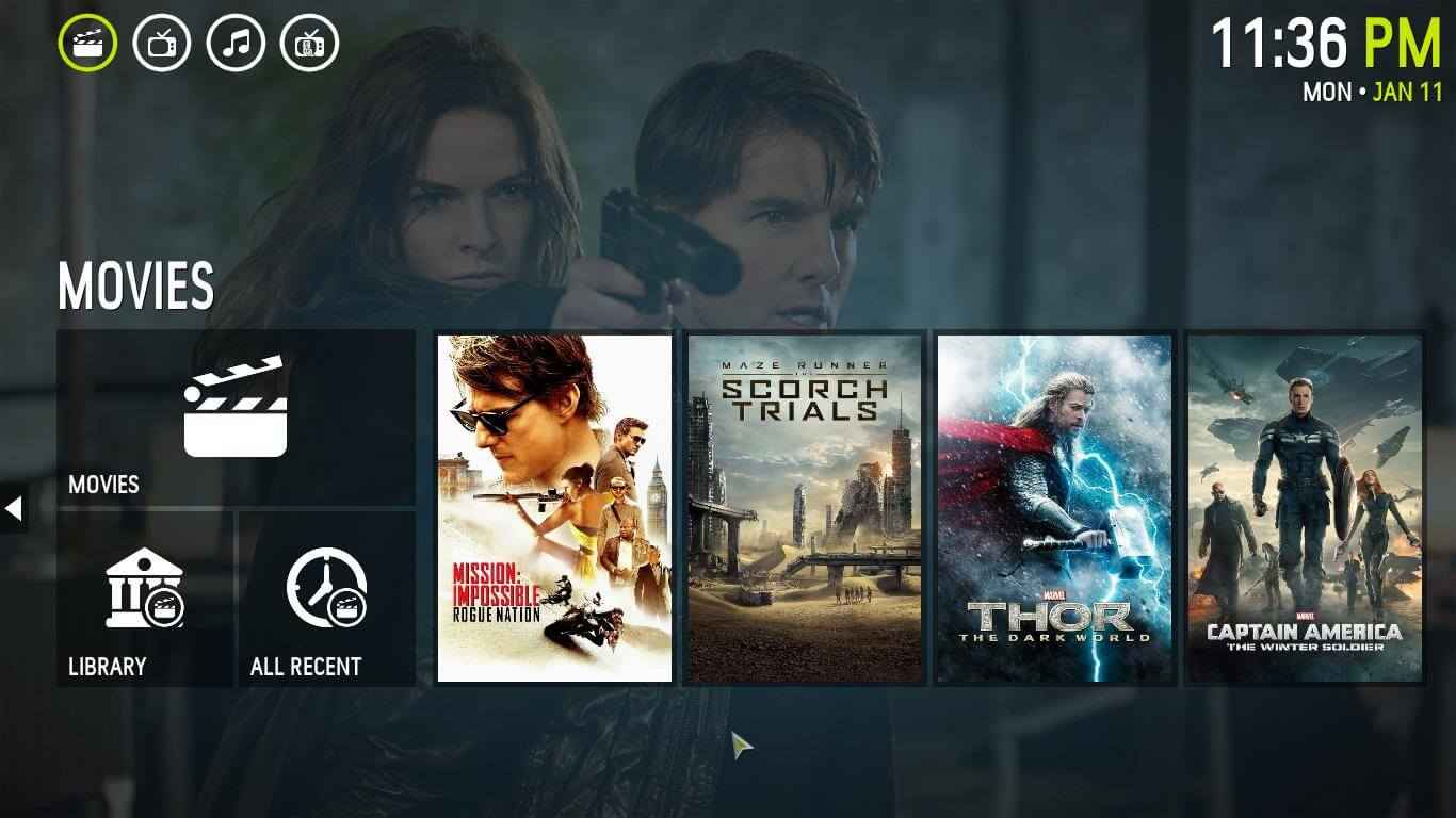 Best Kodi Skins for Leia of 2019 to enhance the User Interface